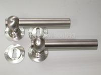 6pairs free shipping Modern stainless steel european elegance door handle/door pull/lever door handle