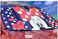 Car Front Window cartoon Double-thick Aluminium Foil Sun Shade Sunblock Car Window Windshield Visor Cover 18 colors