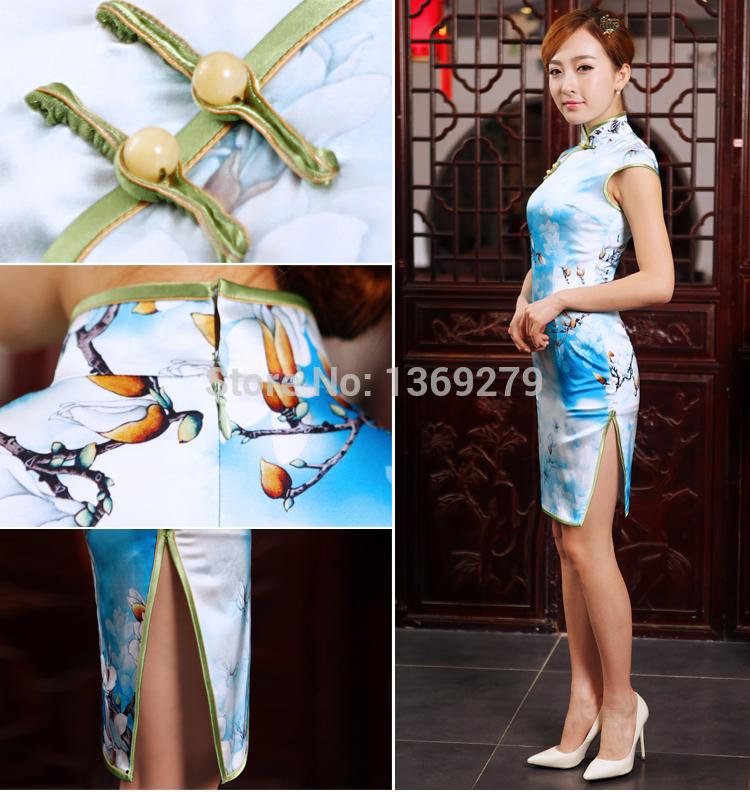 Aliexpress.com : Buy Chu Yingjie summer 2014 new silk short daily ...