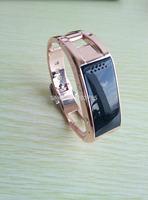 2014 The newest  Smart bracelet bluetooth 4.0 metal smart wrist Pedometer Sleep Monitoring