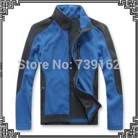 2014 new winter men outdoor warm Fleece jacket women outdoor windproof breathable fleece jacket 3 color M-2XL