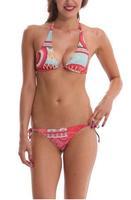 2014 Summer Bikinis Set  Women Bikinis Set  Print  Sexy  Push-Up Padded Top Plus Size Swimsuit Geometric   Print Swimwear DG078