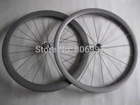U shape+ 25mm width 700c full black road bicycle carbon wheels /(38+50)mm ultralight carbon fiber tubular wheels with 3K matte