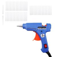 XL-E20 Handy Professional High Temp Heater Hot Glue Gun with 50 Glue Sticks Graft Repair Heat Ggun Pneumatic Tools 20W