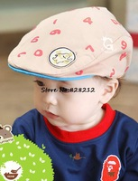 5 Colors Number Design Autumn Baby Berets Boy Girl Baseball Cap Cotton Toddler Kids Sport Hats 1pcs Free Shipping MZC-14062