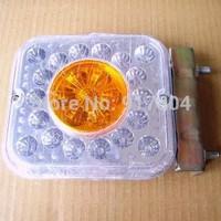 Car 24V / semi-trailer truck LED taillights brake lights turn small triple strobe lightsturn
