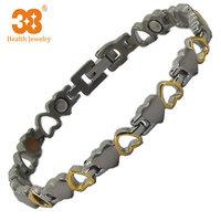 Hot New 2014 Fashion Titanium Charm Women Bracelet Jewelry