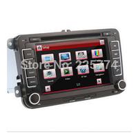 "7"" 2Din GPS Navi Universal Car DVD Player Touch Bluetooth HD TV Radio for VW for VW GOLF POLO PASSAT  JETTA TIGUAN TOURAN CADDY"