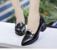 new fashion free shipping 2014 women's shoes classic british style shoes brief women's shoes fashion
