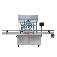 Full Automatic 6 heads Paste Filling Machine