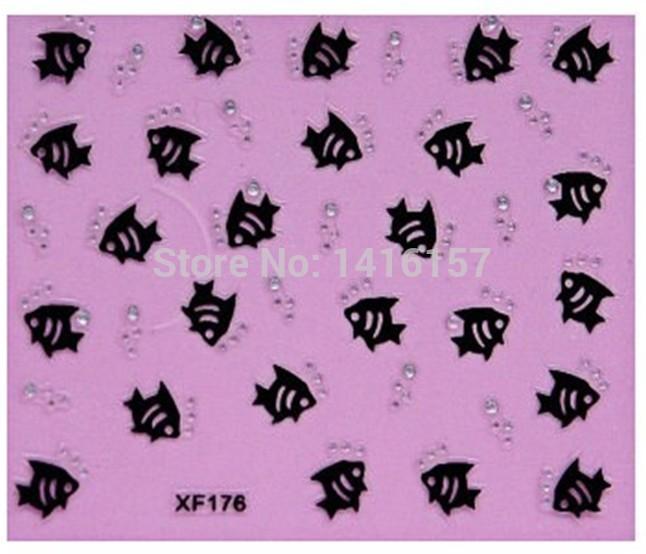 Наклейки для ногтей Fashion-style  XF176