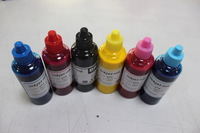 Free shipping Premium Dye Sublimation Ink 6*100ml for General epson inkjet printers all models,transfers Tinta Sublimatica