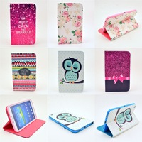 "1X Fashion 2014 New Product PU Leather Case Cover For Samsung Galaxy Tab 3 8"" 8.0 T310 T311 T315 8 inch Tablet Free Shipping"