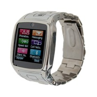 new watch phone TW810 Quad Band Camera Bluetooth Java GPRS 1.6-inch Touch Screen Watch Phone Silver or Black