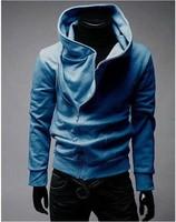 Free Shipping High Collar Men Jacket Top Brand Men Dust Coat Hoodies Clothes Sweater Overcoat Outwear