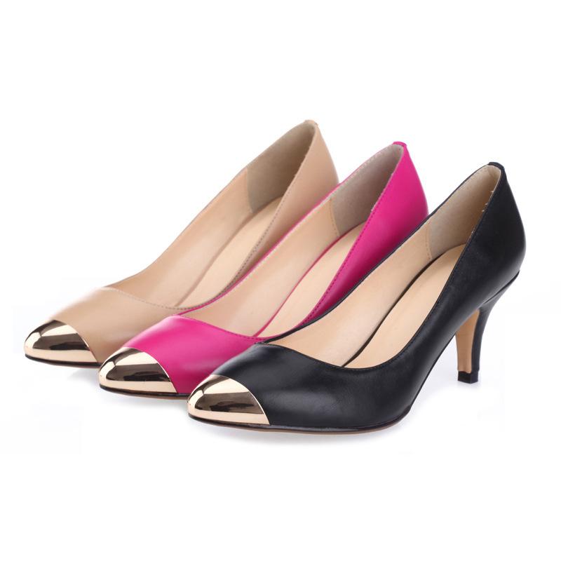 aliexpress popular steel toe heels in shoes
