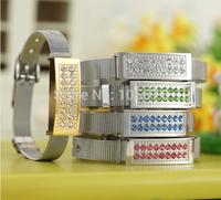 Fashion Cool Jewelry style Bracelet U disk pen drive 4gb 8gb 16gb 32gb usb flash drive memory stick thumb drive!