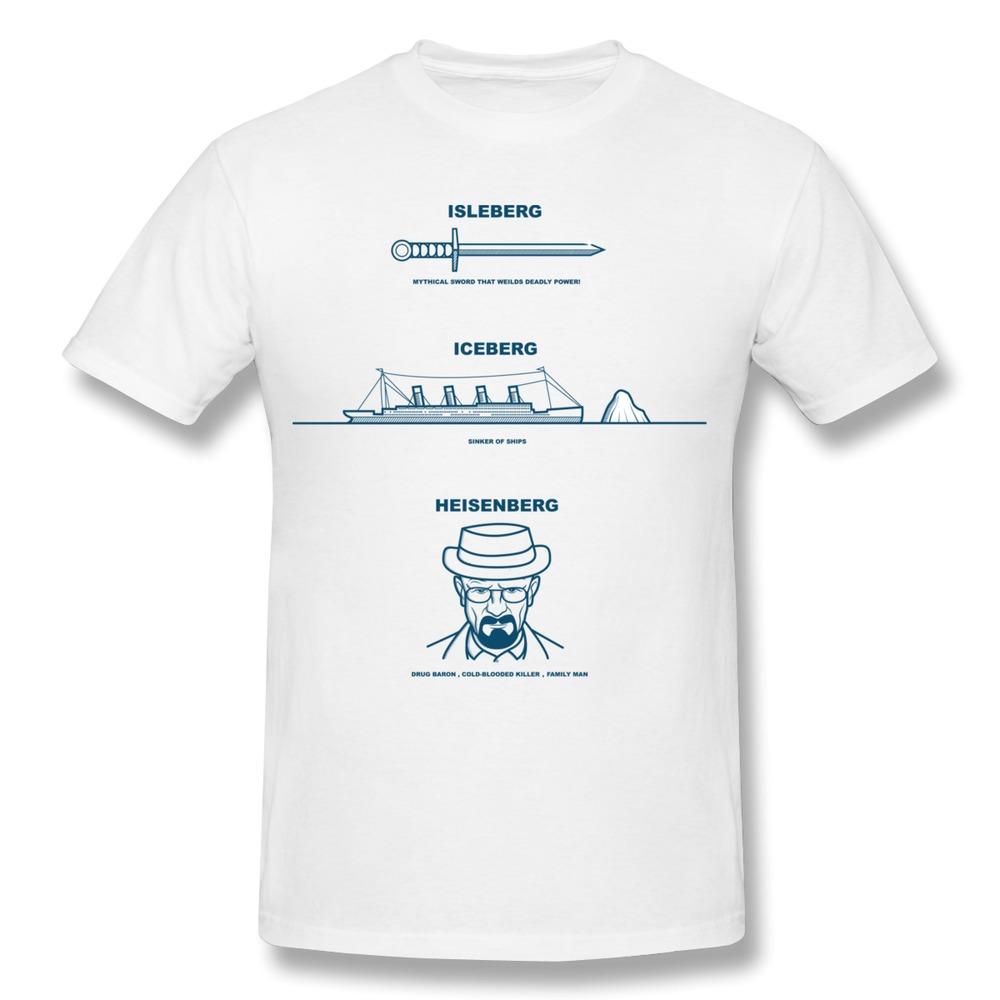 2014 Summer O-Neck T Shirt Men heisenberg breaking bad Beware of the Bergs Printing Men T Shirts(China (Mainland))