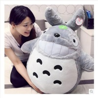 Free Shipping Low Cost Sales A+ Totoro Plush Toys Soft baby Toy Gray Totoro Doll boys and girls toys Holiday gifts kawaii anime