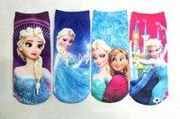 24pcs=12pairs/lot Girls  Socks,boy socks,children socks,cartoon socks, two sizes for 2-4 and 5-10 years old,  AEP09-W1223
