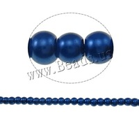 Free shipping!!!Stoving Varnish Glass Beads,Cheap Jewelry Fashion, Round, mixed colors, 4mm, Hole:Approx 1mm