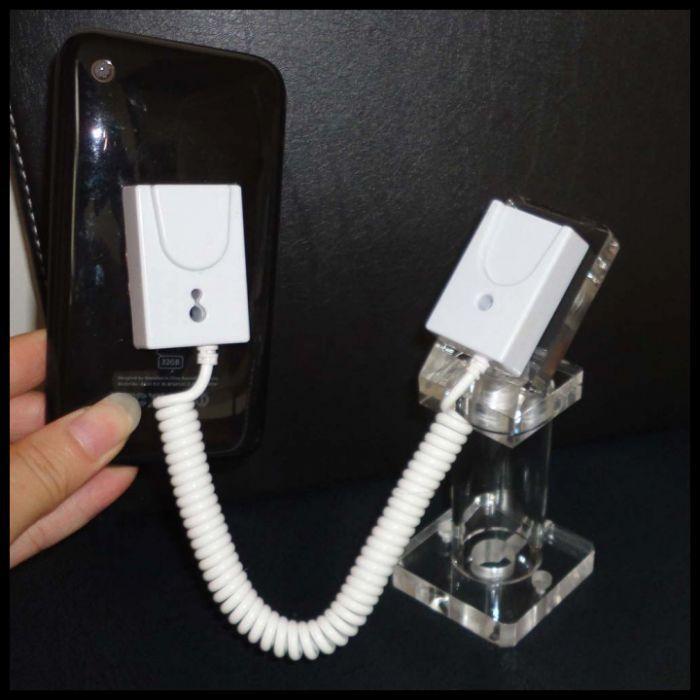 20PCS / lot wholesale acrylic desk phone stand with pull box white one DHL shipping fress(China (Mainland))