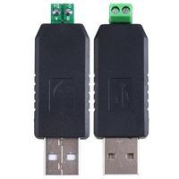 10pcs USB to RS485 USB-485 Converter Adapter Support Win7 XP Vista Linux Mac OS