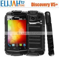 Original 3.5inch Discovery V5+ 480x320 pixels MTK6572w Dual Core  Dual SIM Dual Camera 2.0MP WCDMA 3G Dustproof Shockproof Phone