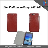 Brand New for Asus padfone infinity a80 slim high quality PU leather case,Leather cover for asus padfond 3,free ship 8 color