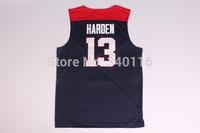 FREE SHIPPING! #13 Harden 2014 USA Basketball Jersey