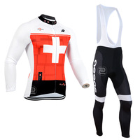 2014 Newest Assos Red/White Winter Thermal Fleece Cycling Clothing Cycling Sets Winter Fleece Long Cycling Jersey and Bib Pants