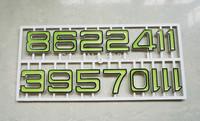 Wholesale Noctilucous Arabic Numbers for Quartz Clock Accessories