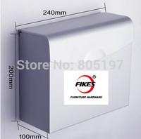 Washroom paper holder , toilet paper box ,Tissue box Toilet roll  Aluminium high quality
