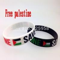 2014 high quality palestine silicone bracelet personalized silicone bracelets