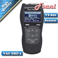 Free shipping VS890 OBD2 Diagnostic tool Auto Vgate Scannner with Multi-language obdii obd CODE READER SCANNER better than