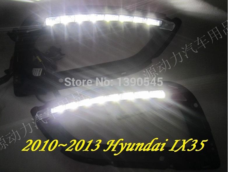 Дневные ходовые огни Hyundai ! IX35 2010 , 2 /set + , 15W 12V, 6000K, дневные ходовые огни hyundai 2pcs set 15w 12v 6000k