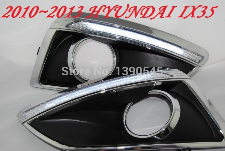 Дневные ходовые огни Hyundai ! IX35 2010 , 2 /set + , 15W 12V, 6000K, дневные ходовые огни hyundai ix35 2010 2pcs set 15w 12v 6000k
