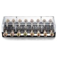 8 Way Fuse Holder Fulseholder Block Box Car Audio Part Electronics 12V
