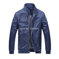 Hot Selling Autunm Casual Jacket For Men 2014 New Fashion Man Jackets Men's Outerwear Sportswear Clothing Big Size M-XXXL