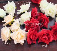 Free shipping(100 pcs/lot) 4.5cm Artificial Simulation Silk Camellia Rose Flower Head  DIY Wedding Decoration  Flowers
