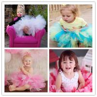 Sweet Colorful Newborn Baby Petti Tutu Skirt  Girls Baby Fluffy Tutu Ballet Skirt For Birthday Party Photograp  Baby Tutu NB-2T