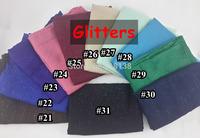 Shimmering Glitter Solid Plain Viscose Shawl Scarf Bling Bling Head Wrap Muslim Hijab, Free Shipping