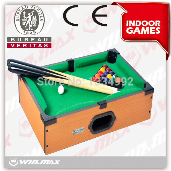 NewMini Table Billiards Pool Ball Snooker Top Desktop Table Game Gadget Toy Novelty Gift Billiards Fitness for Kid Free Shipping(China (Mainland))