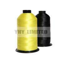 nylon 66 bonded thread nylon bonded thread strong thread for shoe for leather mat sewing thread air bag thread
