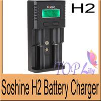 5Pcs Super Quick Soshine H2 Li-ion Battery Universal Multifunction Charger For Li-ion/LiFePO4/26650/18650/16340/9V/NiMH C/AA/AAA