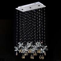 Free shipping,hot sell modern K9 crystal led chandelier lighting crystal decorative pendant lamp