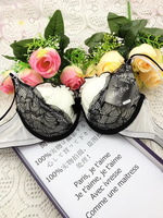 Very discount brand bra push up sexy and elegant women's brassiere AB cup beautiful girls cotton underwear