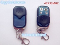 2015 fasion  Universal remote control gate 433 MHz Auto Key To GATES CAME FAAC  duplicator Copy Code Remote