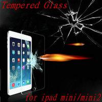 Anti Shatter Guard Film Explosion-Proof Transparency Premium Tempered Glass Screen Protector For iPad mini2 Retina For ipad mini