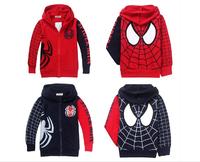 2014 Autumn children clothing boys Classic models sweater coat terry superman/batman kids jacket